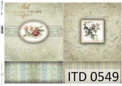 Papier decoupage ITD D0549