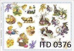 Papier decoupage ITD D0376M