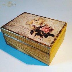 Pudełko ozdobne - Róża