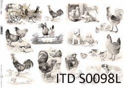 Papier decoupage SOFT ITD S0098L