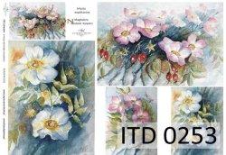 Papier decoupage ITD D0253