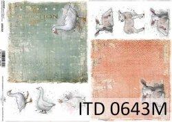Papier decoupage ITD D0643M