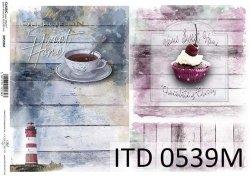 Papier decoupage ITD D0539M