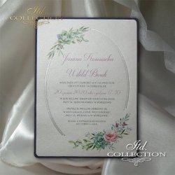 Zaproszenia ślubne / zaproszenie 2074
