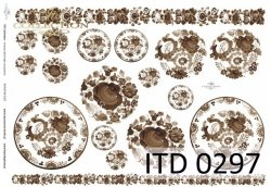 Papier decoupage ITD D0297M