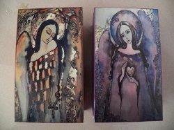 Skrzynki z Aniołami