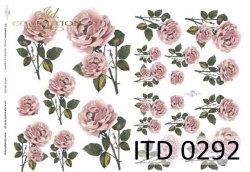 Papier decoupage ITD D0292