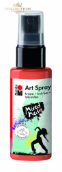 Acrylic spray Marabu Art 50 ml - Red Orange 023