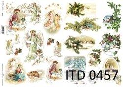 Papier decoupage ITD D0457M
