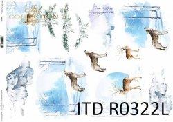 Papier ryżowy ITD R0322L
