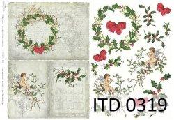 Papier decoupage ITD D0319