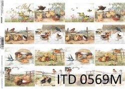 Papier decoupage ITD D0569M