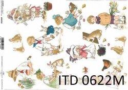 Papier decoupage ITD D0622M