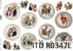 Papier ryżowy ITD R0347L