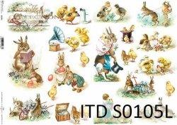 Papier decoupage SOFT ITD S0105L