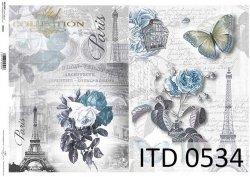 Papier decoupage ITD D0534