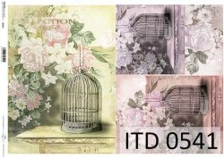 Papier decoupage ITD D0541