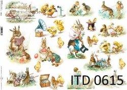 Papier decoupage ITD D0615