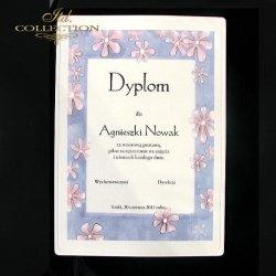 Dyplom kwiatowo 1