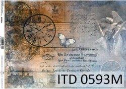 Papier decoupage ITD D0593M