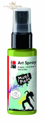 Acrylic spray Marabu Art 50 ml - Reseda 061