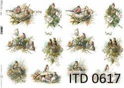 Papier decoupage ITD D0617