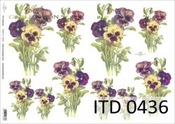 Papier decoupage ITD D0436