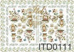 Papier decoupage ITD D0111