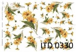 Papier decoupage ITD D0330