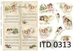 Papier decoupage ITD D0313M
