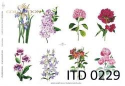 Papier decoupage ITD D0229