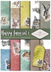 .Papier do scrapbookingu SCRAP-037 ''Happy farm