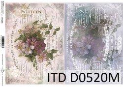 Papier decoupage ITD D0520M