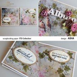 Album okolicznościowy - praca Asha