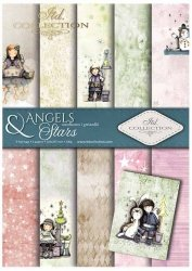 .Papier do scrapbookingu SCRAP-024 ''Angels & Stars