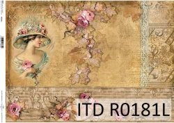 Papier ryżowy ITD R0181L