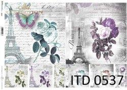Papier decoupage ITD D0537