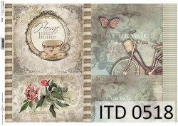 Papier decoupage ITD D0518
