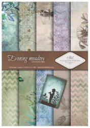 .Papier do scrapbookingu SCRAP-012 ''Evening meadow''