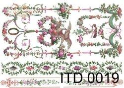 Papier decoupage ITD D0019M