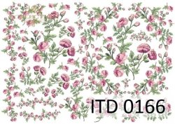 Papier decoupage ITD D0166
