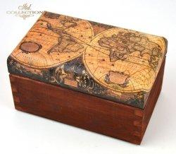 Magiczne pudełko VII 'Mapa' - praca Zdeňka Otipková Czechy
