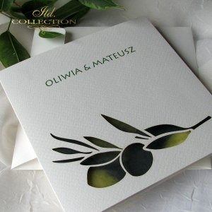 Zaproszenia ślubne / zaproszenie 1731_47_oliwki