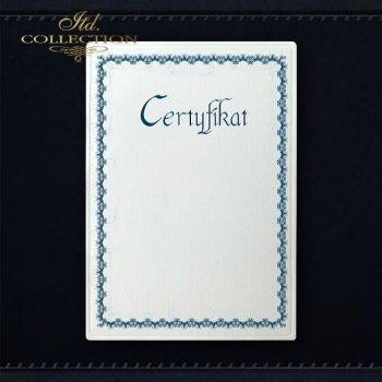 диплом DS0297 универсальный сертификат