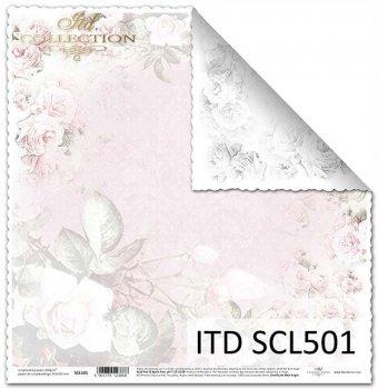 Бумага для скрапбукинга SCL501