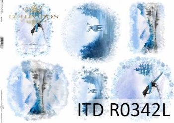 рисовая бумага для декупажа R0342L
