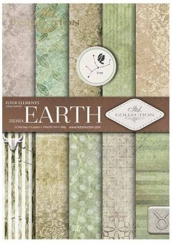 Скрапбукинг бумаги SCRAP-029 ''Земля