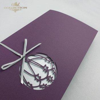 Рождественская и Новогодняя открытка K360
