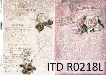 рисовая бумага для декупажа R0218L