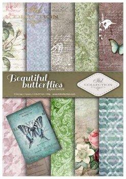 Скрапбукинг бумаги SCRAP-016 ''красивые бабочки